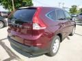 2013 Basque Red Pearl II Honda CR-V EX-L AWD  photo #3