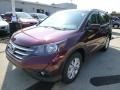 2013 Basque Red Pearl II Honda CR-V EX-L AWD  photo #7