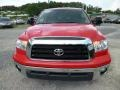 2009 Radiant Red Toyota Tundra TRD Double Cab 4x4  photo #2