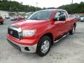 2009 Radiant Red Toyota Tundra TRD Double Cab 4x4  photo #3