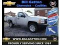 2013 Silver Ice Metallic Chevrolet Silverado 1500 Work Truck Regular Cab  photo #1