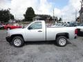 2013 Silver Ice Metallic Chevrolet Silverado 1500 Work Truck Regular Cab  photo #4