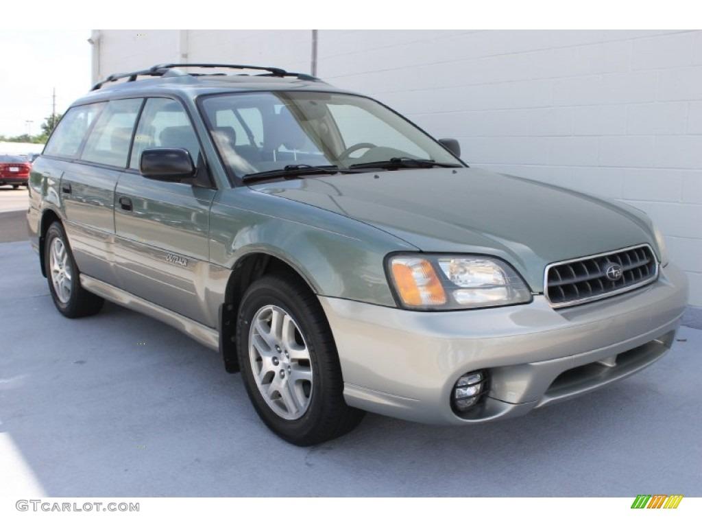 2001 Subaru Outback 3.0 >> Seamist Green Pearl 2004 Subaru Outback Wagon Exterior Photo #83583876 | GTCarLot.com