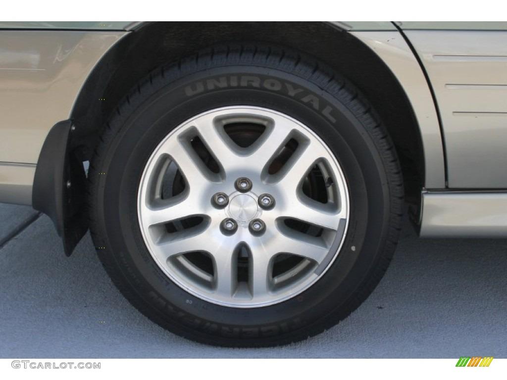 2001 Subaru Outback 3.0 >> 2004 Subaru Outback Wagon Wheel Photo #83583951 | GTCarLot.com