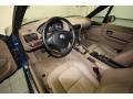 2001 BMW Z3 Beige Interior Prime Interior Photo
