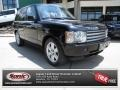 Java Black 2004 Land Rover Range Rover HSE