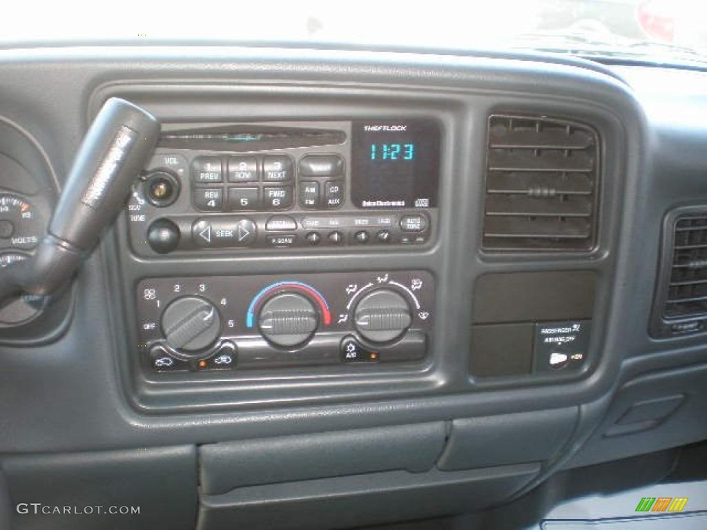 2002 Silverado 1500 LS Extended Cab 4x4 - Medium Charcoal Gray Metallic / Graphite Gray photo #8
