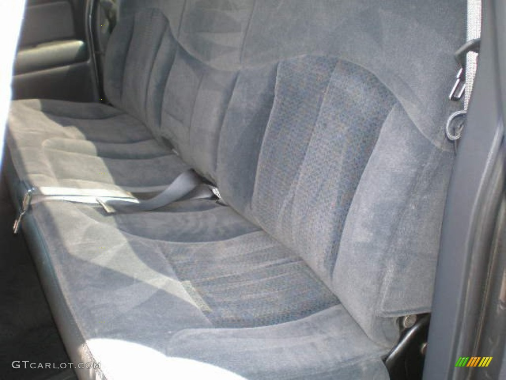 2002 Silverado 1500 LS Extended Cab 4x4 - Medium Charcoal Gray Metallic / Graphite Gray photo #16