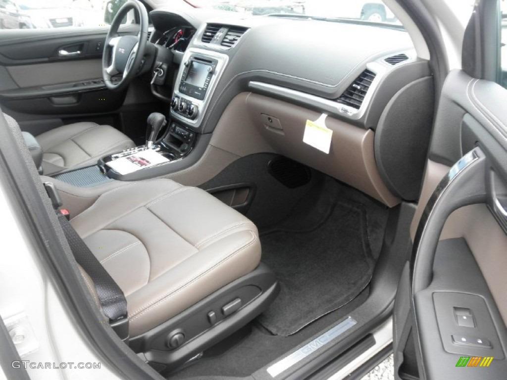 dark cashmere interior 2014 gmc acadia slt photo 83604339