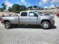 Steel Gray Metallic 2014 GMC Sierra 3500HD Denali Crew Cab 4x4 Dually