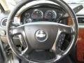 2007 Chevrolet Silverado 1500 Ebony Black Interior Steering Wheel Photo