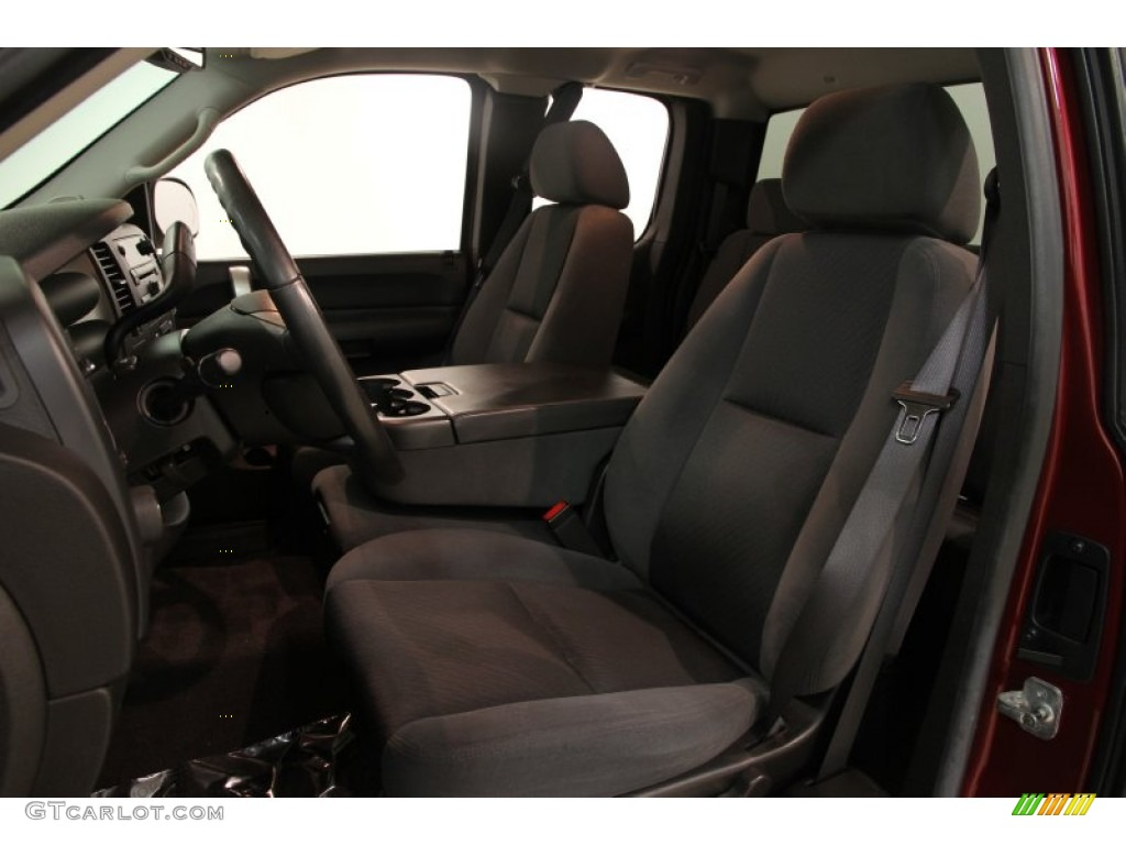 2009 Silverado 1500 LT Extended Cab 4x4 - Deep Ruby Red Metallic / Ebony photo #5