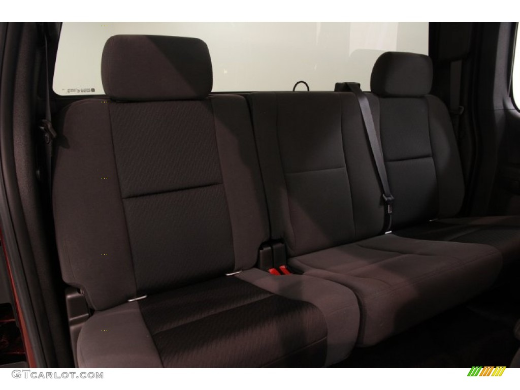 2009 Silverado 1500 LT Extended Cab 4x4 - Deep Ruby Red Metallic / Ebony photo #12