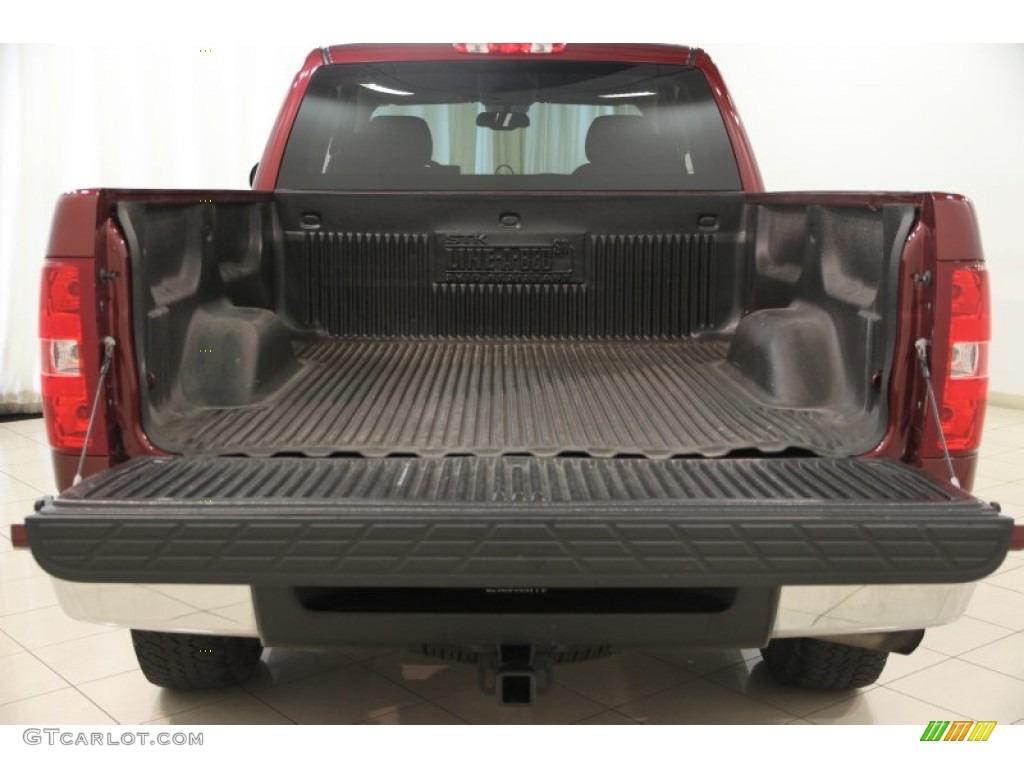 2009 Silverado 1500 LT Extended Cab 4x4 - Deep Ruby Red Metallic / Ebony photo #14