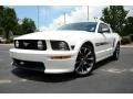 Performance White 2007 Ford Mustang Gallery
