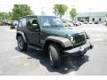 2011 Natural Green Pearl Jeep Wrangler Sport 4x4  photo #3