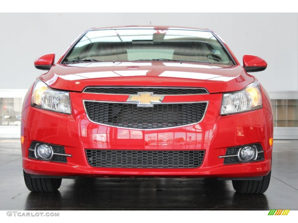 Victory Red 2012 Chevrolet Cruze Lt Rs Exterior Photo 83619402