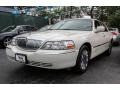 Ceramic White Tri-Coat 2006 Lincoln Town Car Signature