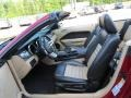 Black/Parchment Interior Photo for 2007 Ford Mustang #83627265