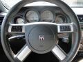 2008 Dodge Challenger Dark Slate Gray Interior Steering Wheel Photo