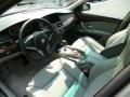 Grey 2008 BMW 5 Series Interiors
