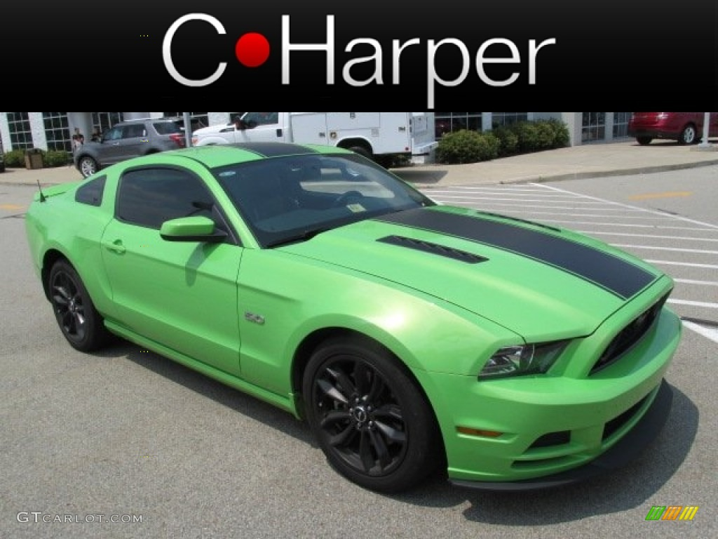 2013 gotta have it green ford mustang gt premium coupe. Black Bedroom Furniture Sets. Home Design Ideas