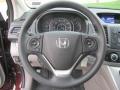 2013 Basque Red Pearl II Honda CR-V EX AWD  photo #11