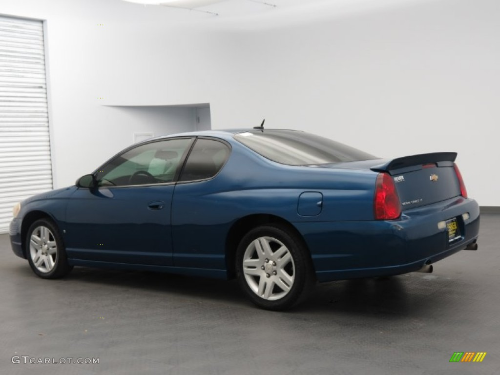 laser blue metallic 2006 chevrolet monte carlo ltz. Black Bedroom Furniture Sets. Home Design Ideas