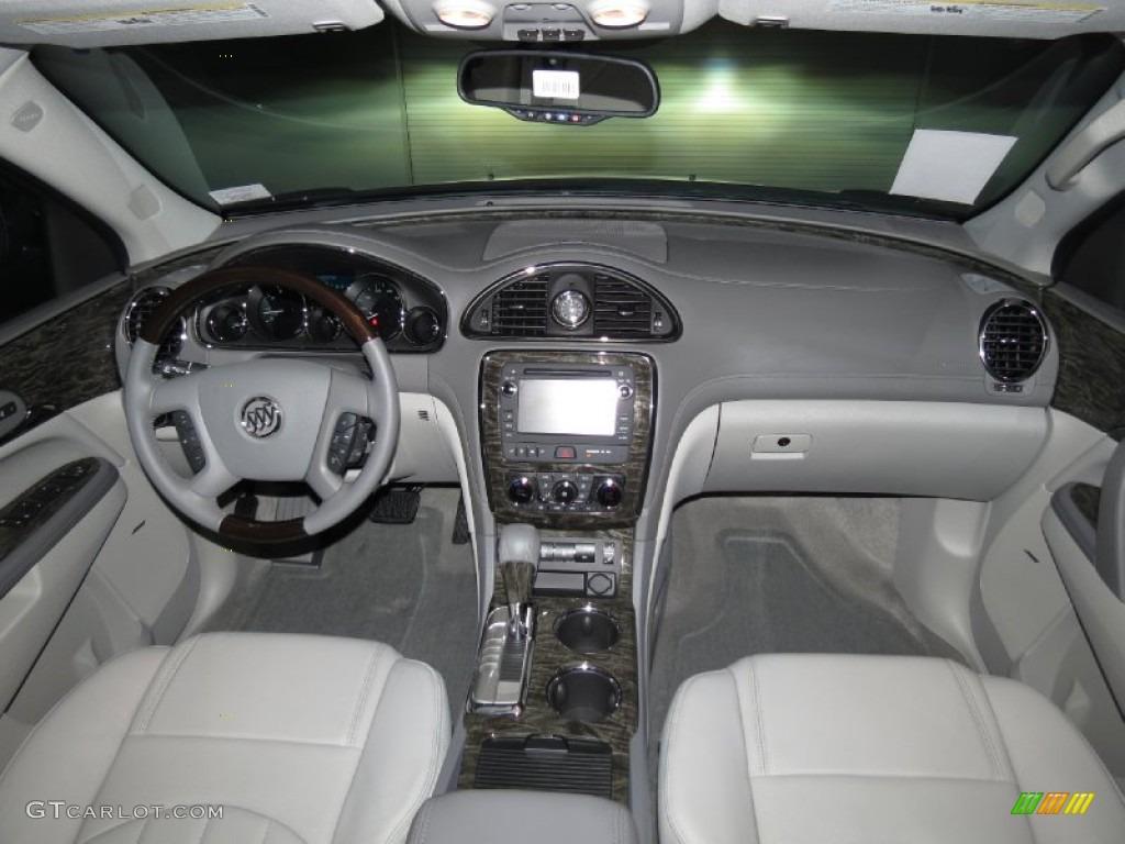 2014 Atlantis Blue Metallic Buick Enclave Leather 83666512 Photo 4 Car Color