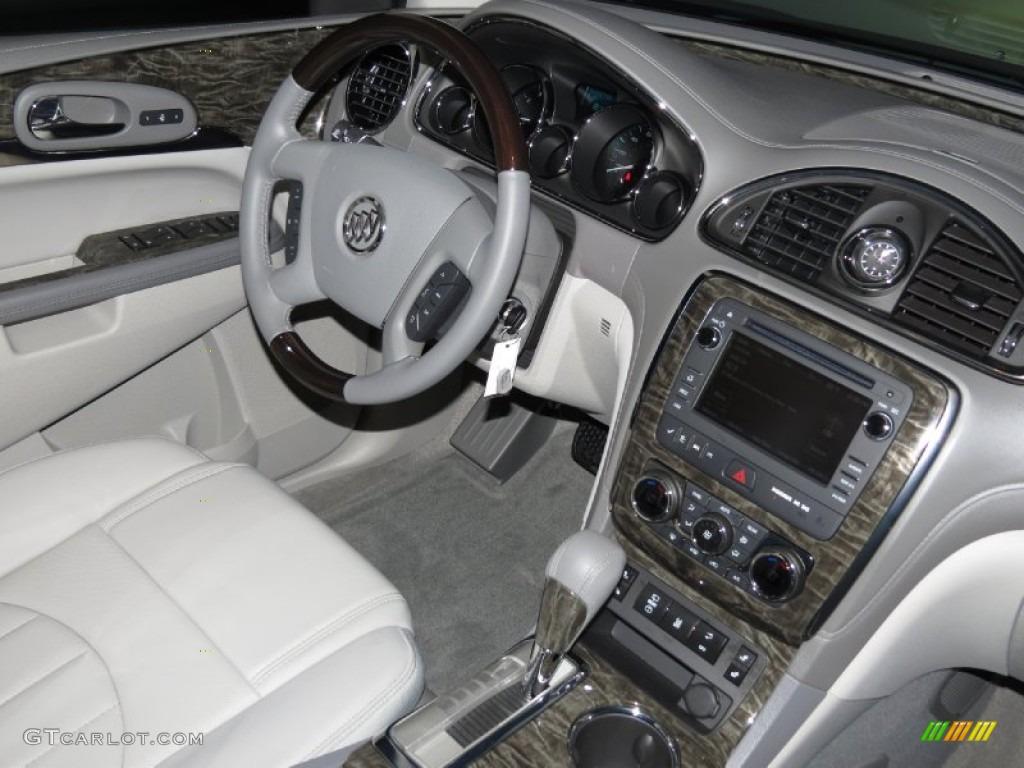 2014 Atlantis Blue Metallic Buick Enclave Leather 83666512 Photo 5 Car Color