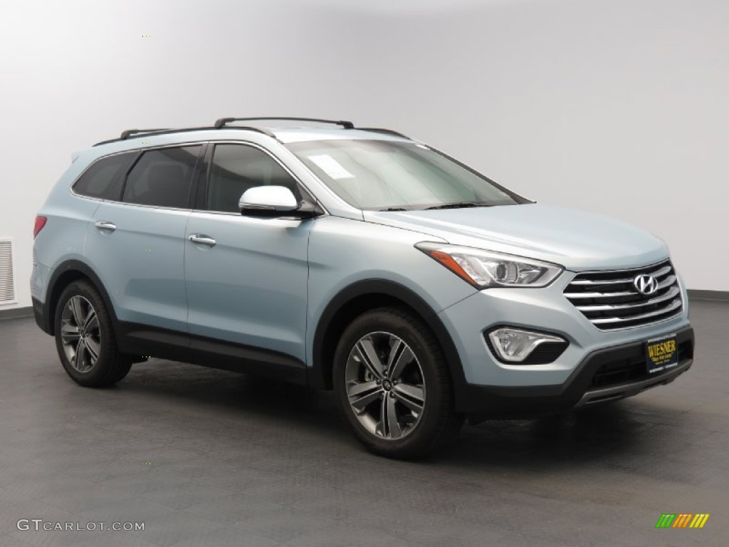 2013 crystalline blue pearl hyundai santa fe limited 83666508 car color galleries. Black Bedroom Furniture Sets. Home Design Ideas