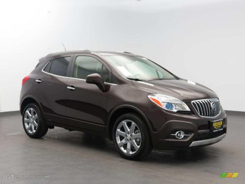 2013 Deep Espresso Brown Metallic Buick Encore Leather 83666497 Car Color