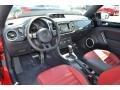 Black/Red 2013 Volkswagen Beetle Interiors
