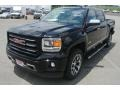 Onyx Black - Sierra 1500 SLT Crew Cab 4x4 Photo No. 2
