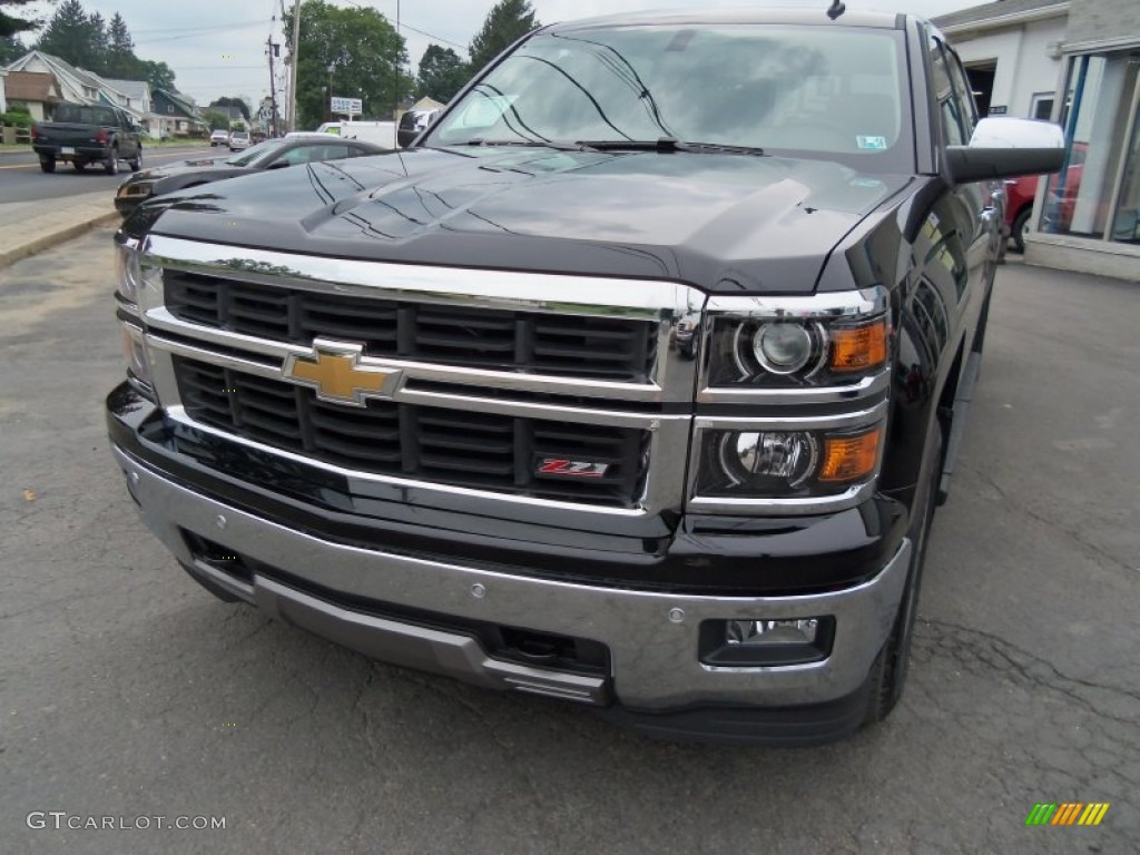 2014 black chevrolet silverado 1500 ltz z71 crew cab 4x4 83692643 car color. Black Bedroom Furniture Sets. Home Design Ideas