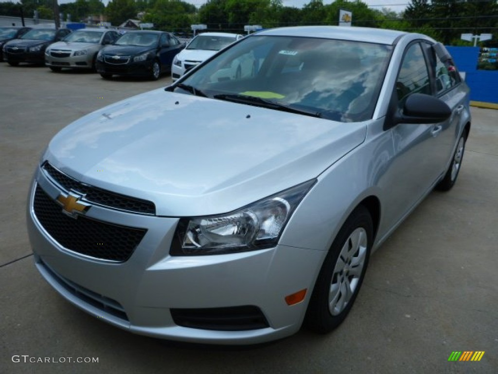 silver ice metallic 2014 chevrolet cruze ls exterior photo 83706442. Black Bedroom Furniture Sets. Home Design Ideas