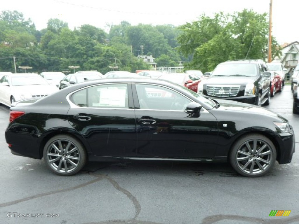 obsidian black 2013 lexus gs 350 awd f sport exterior photo 83713237. Black Bedroom Furniture Sets. Home Design Ideas