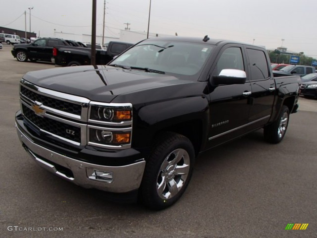 2014 black chevrolet silverado 1500 ltz crew cab 4x4 83692716 photo 4 car. Black Bedroom Furniture Sets. Home Design Ideas