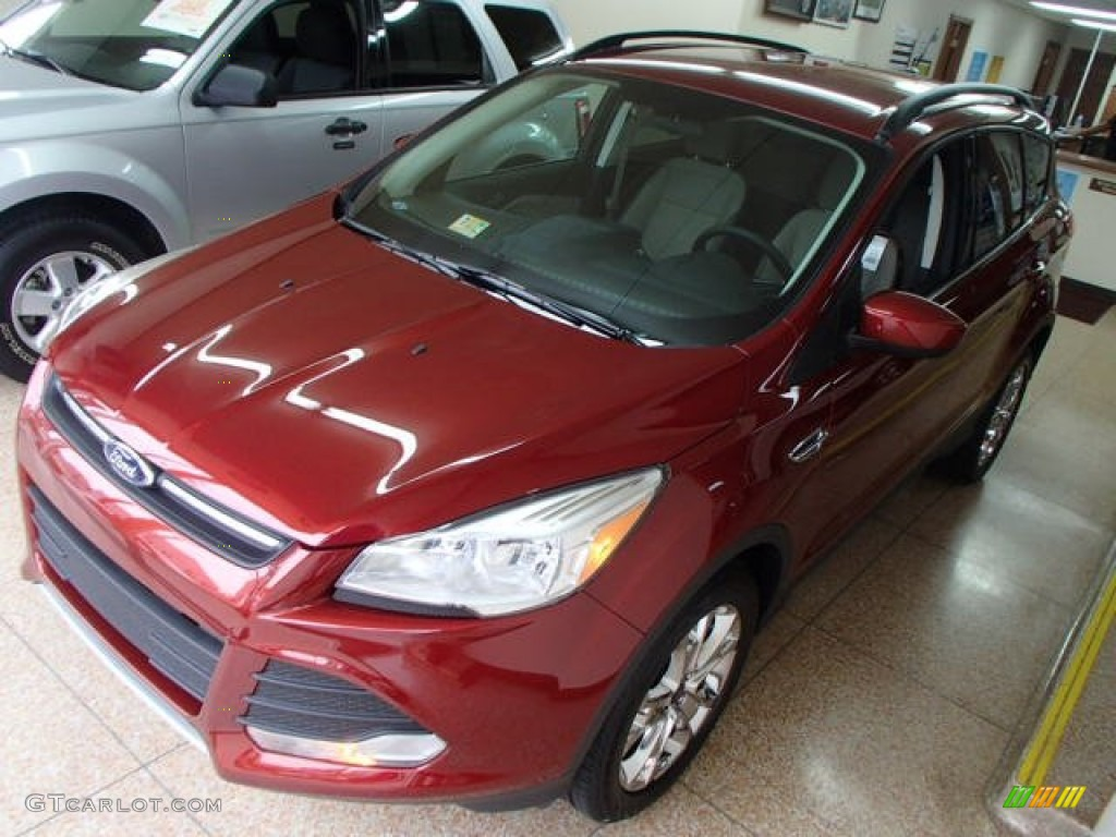 2014 Escape SE 1.6L EcoBoost 4WD - Sunset / Medium Light Stone photo #1