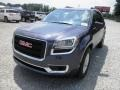 2014 Atlantis Blue Metallic GMC Acadia SLE  photo #3