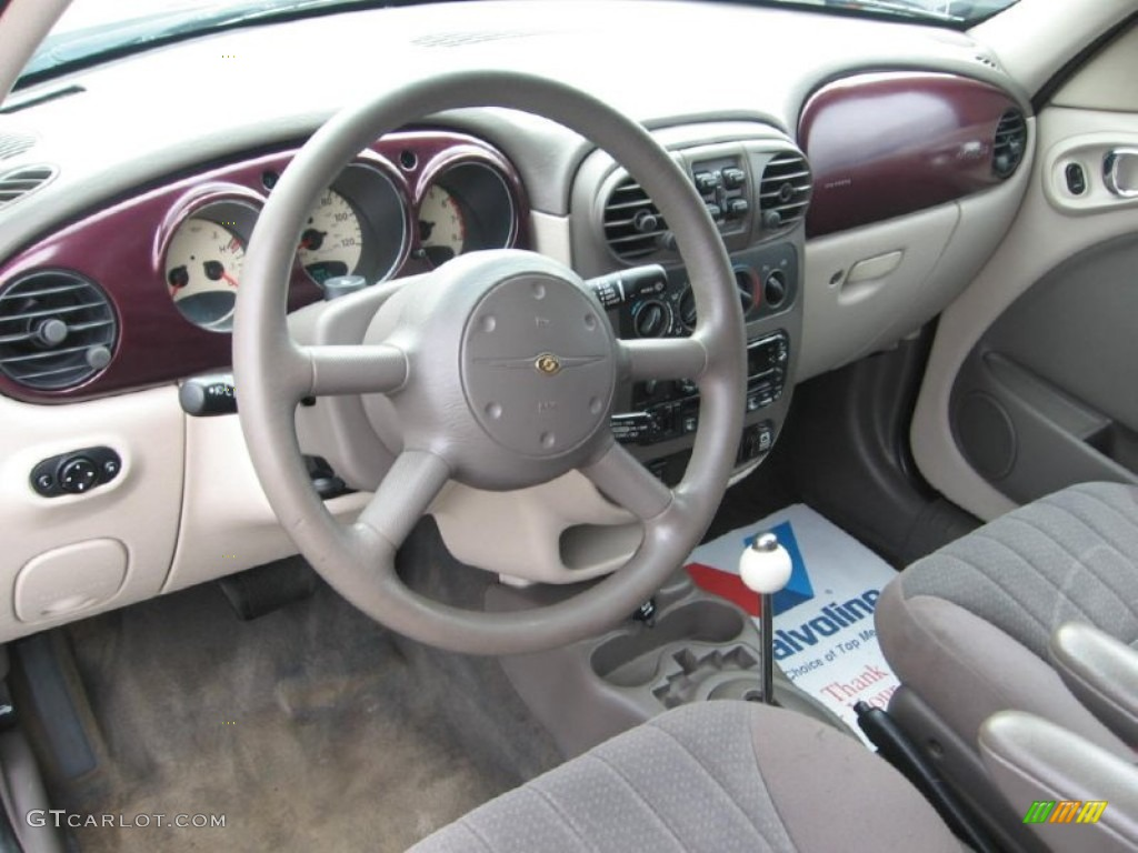 dark slate gray interior 2003 chrysler pt cruiser touring. Black Bedroom Furniture Sets. Home Design Ideas