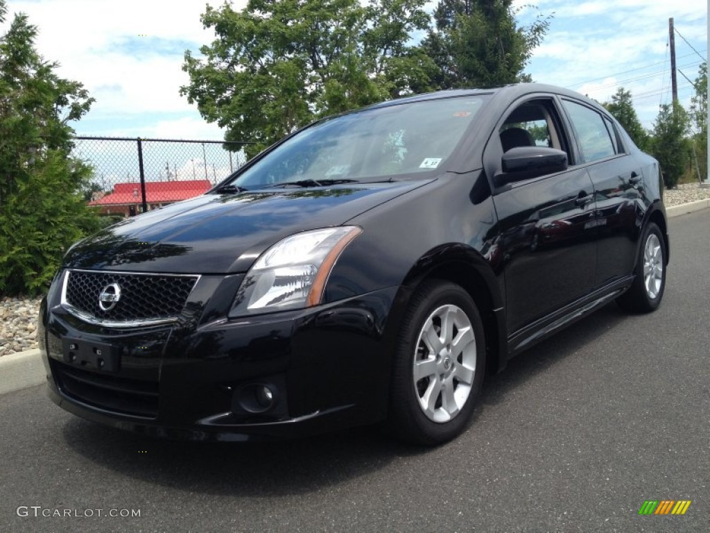 2012 super black nissan sentra 2 0 sr 83724384 car color galleries. Black Bedroom Furniture Sets. Home Design Ideas