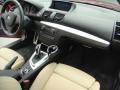 2012 BMW 1 Series Savanna Beige Interior Dashboard Photo