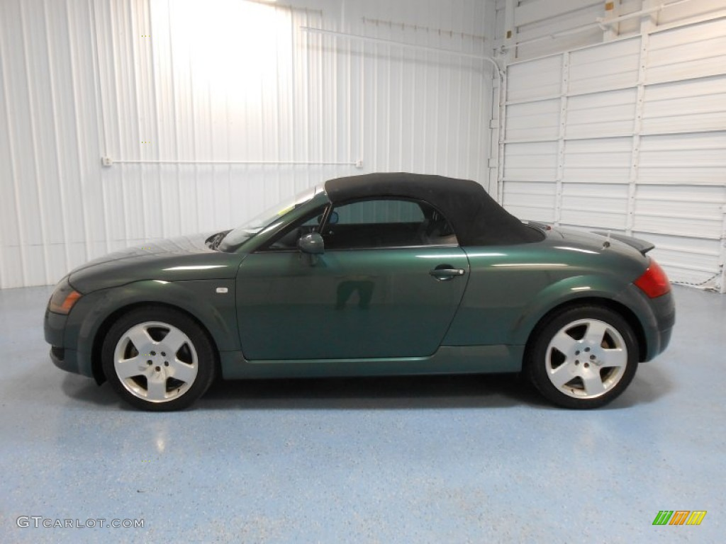 2001 desert green pearl audi tt 1 8t quattro roadster 83723896 car color galleries. Black Bedroom Furniture Sets. Home Design Ideas