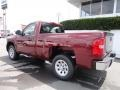 2013 Deep Ruby Metallic Chevrolet Silverado 1500 Work Truck Regular Cab  photo #5