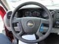 2013 Deep Ruby Metallic Chevrolet Silverado 1500 Work Truck Regular Cab  photo #9