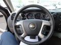 2013 Black Chevrolet Silverado 1500 LT Extended Cab 4x4  photo #10