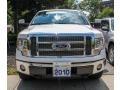 White Platinum Metallic Tri Coat - F150 Lariat SuperCrew 4x4 Photo No. 2