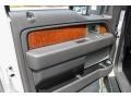 White Platinum Metallic Tri Coat - F150 Lariat SuperCrew 4x4 Photo No. 17