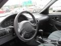Graphite Gray Steering Wheel Photo for 2003 Chevrolet Cavalier #83775334